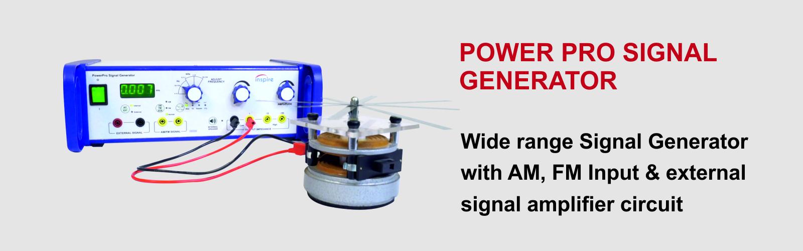 Power Pro Signal Generator